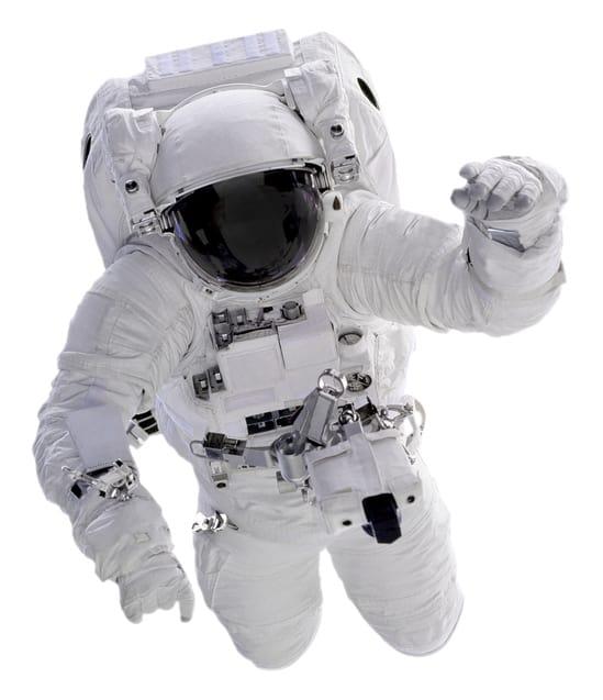 Kosmonauter tränade på vibrationsplatta