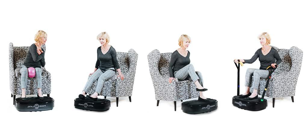 Vibrationsträning - bra för äldre