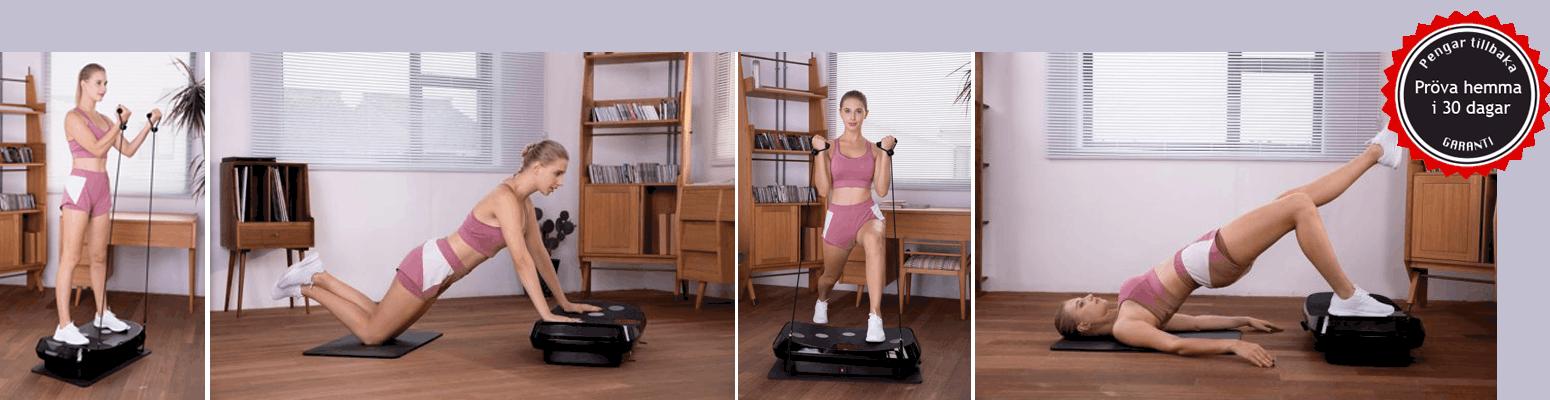 Fitnessplate 4D